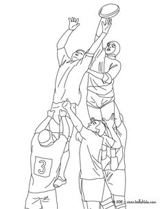 rugby touch coloring page more sports coloring pages on hellokidscom