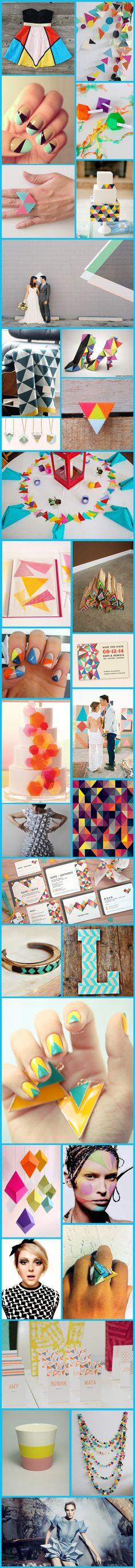 Wednesday Wedding Inspiration: Geometric Shapes