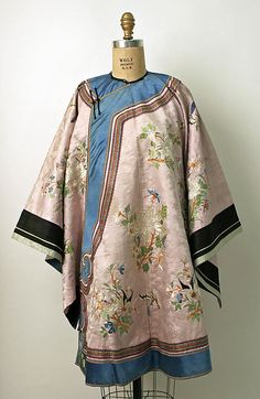 Silk Chinese Coat / The Metropolitan Museum Collection http://www.metmuseum.org/collections/search-the-collections/80010108