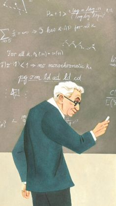 The Boy Who Loved Math: The Illustrated Story of Eccentric Genius and Lovable Oddball Paul Erdos | Brain Pickings