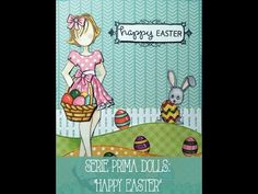 Julie Nutting Prima Doll Stamps | Gift Tags - YouTube
