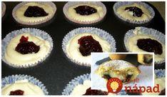 Každý kto ochutnal vyhlásil, že chutia ako moravské koláče. Czech Recipes, Healthy Cookies, Tiramisu, Muffins, Cheesecake, Food And Drink, Cupcakes, Breakfast, Desserts