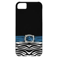 Elegant animal print iPhone 5 case