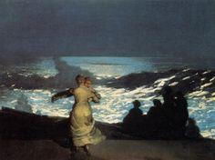 Dancing by Moonlight - Winslow Homer