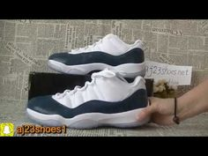 62488a79fcfd04 2019 Air Jordan 11 Low Blue Snakeskin Unboxing HD review from aj23shoes net