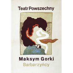 Dealer and publisher of original Polish posters. Online shop run by Polish Poster Gallery from Wroclaw, Poland Polish Posters, Barbarian, Books, Poster, Libros, Book, Book Illustrations, Libri