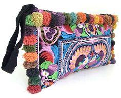 Nuestras carteras son indispensables, Vintage, Bohochic, estilo etnica, look casual.