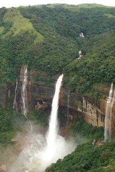 Nohkalikai Falls — Meghalaya, India