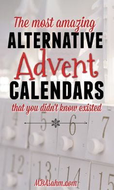 These alternative Advent calendar ideas for kids and adults will make your Christmas season so festive and fun! They're perfect early Christmas gifts and a great way to celebrate with family. Alternative Advent Calendar, Adult Advent Calendar, Advent Calendar Fillers, Advent Calander, Homemade Advent Calendars, Advent Calendar Gifts, Advent Calendar Activities, Advent Calendars For Kids, Advent Calendar Ideas For Adults
