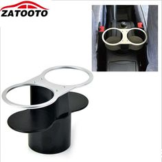 [Visit to Buy]  Double Hole Car Cup Holder / Drinks Holders Car Accessories #Advertisement