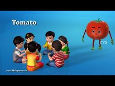 Learn Vegetables song - 3D Animation Learning English preschool rhymes for children - YouTube