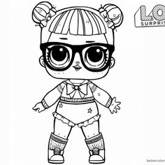free printable lol doll coloring page | cool coloring