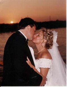 Sunset Wedding Final Kiss This couple said their vows at sunset and had a magical kiss aboard a luxury yacht in Newport Harbor. Boat Wedding, Yacht Wedding, Wedding Tags, Sunset Wedding, Wedding Ideas, Newport Beach, Newport Harbor, Boat Insurance, Luxury Yachts
