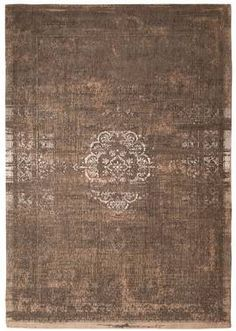 #Orientteppich Muster #Carpets | gefärbt gewebt |  -beige braun natur-  Vintage-Teppich - Bild vergrößern