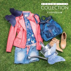 TIFFOSI KIDS | Girl Spring Collection   Get the look: Camisa: http://www.tiffosi.com/camisas-s-s-azul-44112.html Blusão: http://www.tiffosi.com/casaco-51429.html Saia: http://www.tiffosi.com/saias-43743.html Mochila: http://www.tiffosi.com/carteira-43664.html Botas: http://www.tiffosi.com/sandalias-abotinadas-43333.html  #tiffosi #tiffosidenim #tiffosikids #newin #shoes #accessories #new #spring #springcollection #hellospring #girl #kids #denim