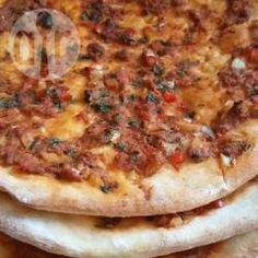 Recipe photo: Turkish lahmacun