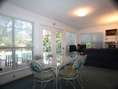 dining area sun room | The Sunroom, off the Dining area, makes for a great extra livingspace ...