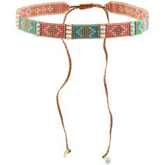 Mishky Embellished Bracelet ($53) ❤ liked on Polyvore featuring jewelry, bracelets, pink, beaded bangles, pink jewelry, beaded jewelry, mishky jewelry and rainbow jewelry