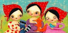 Love Tascha Parkinson's work...check her out on Etsy & FB.
