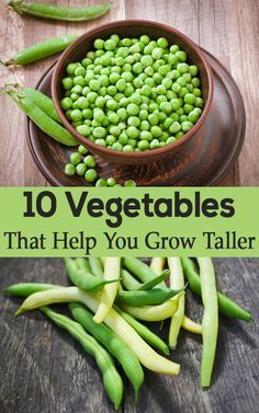 Top 10 Vegetables That Help You Grow Taller!!!!! YES