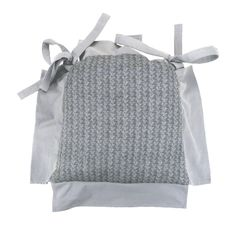 Galette de chaise tricot