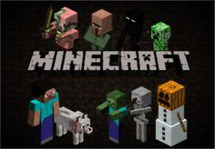 Minecraft is epic with all the pigmen endermen and the wither and the enderdragon.