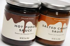 Packaging design from the in-house design team atWilliams-Sonoma.