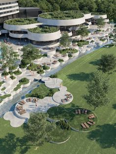 Banja Vrućica spa is a destination with a long and successful tradition of medical tourism. In order to accommodate the change in the guests Architecture Magazines, Green Architecture, Futuristic Architecture, Concept Architecture, Sustainable Architecture, Beautiful Architecture, Landscape Architecture, Landscape Design, Architecture Design