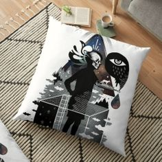 Ghosts Floor Pillow Case Personalized Pillow Cases, Custom Pillow Cases, Custom Pillows, Old Pillows, Floor Pillows, Throw Pillows, How To Make Pillows, Ghosts, Pillow Covers