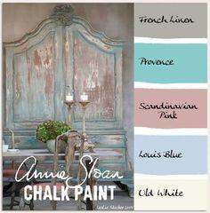 stylish patina, chalk paint, annie sloan, buy chalk paint online www. COLORWAYS A warm grey Gustavian palette