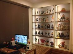 Benny Ng's Shelves One Piece Figures