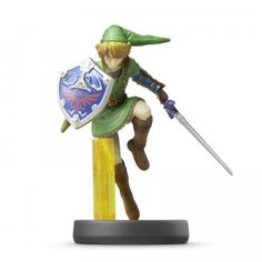 amiibo is a collection of interactive figures based on Nintendo characters, including Mario and Link.