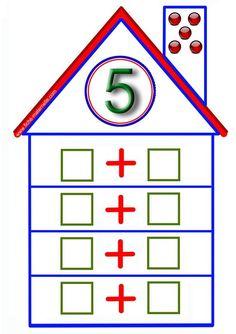 Montessori Math, Preschool Math, Kindergarten Math, Teaching Math, Math Worksheets, Math Resources, Math Games, Preschool Activities, Math Addition