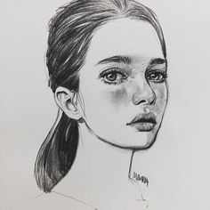 Drawing Of Girls Faces Character Design Pencil Art, Sketches, Drawing People, Art Sketchbook, Art Drawings, Drawing Illustrations, Drawing Sketches, Art Sketches, Art Inspiration