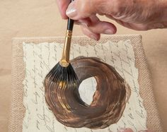 How to Easily Paint a Bird's Nest with Priscilla Hauser using FolkArt Multi-Surface Paints!