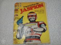 Album de figurinhas completo do Jaspion/Changeman - R$180