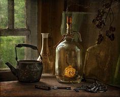 Secrets of an old window ... - Aelga - LensArt.ru