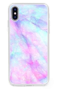 The Casery Iridescent Crystal iPhone X Case #iPhoneX #affiliate #iphonexcase,