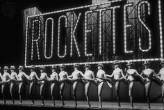 The Rockettes!
