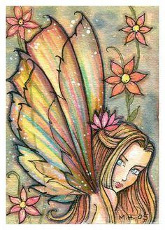 Molly Harrison Ginger - fairy art