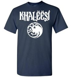 Khaleesi House Targaryen Shirt , Game of Thrones, Gildan Short-Sleeve T-Shirt