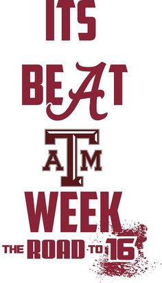 Yes it's beat Texas A&M week and we did! Alabama College Football, Alabama Vs, University Of Alabama, Crimson Tide Football, Alabama Crimson Tide, Bama Fever, Nick Saban, National Championship, Roll Tide