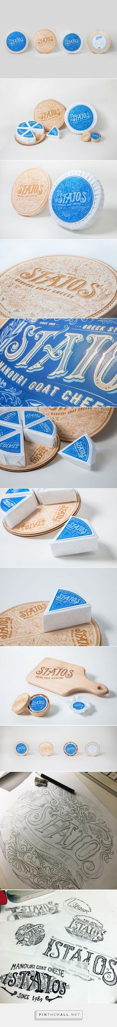 Staios Cheese packaging design by Cece Li - http://www.packagingoftheworld.com/2017/06/staios-cheese.html