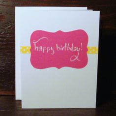 handmade card by Jellybean Art