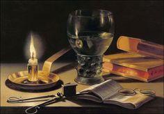 Pieter Claesz, Nature morte à la bougie