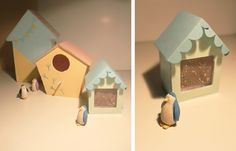 DIY cabanes à oiseaux.