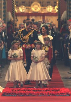 Child's Play at William and Kate's wedding