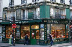 A la Mere de Famille, the oldest sweet shop in Paris - France
