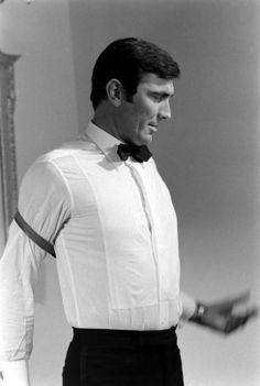 """George Lazenby is James Bond 007 in """"On Her Majesty's Secret Service"""". Personally, I never cared from Lazenby as Bond. However, I think the movie had great action sequences. If you are a fan of George Lazenby, please like or pin a few photos. Skinhead Reggae, Service Secret, George Lazenby, Extraordinary Gentlemen, Bond Series, Paul Weller, James Bond Movies, Bond Girls, Sean Connery"""