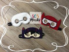 Big Hero 6 Inspired Masks, Kids Masks, Kids Costume, Baymax Mask, Hiro Mask, Kids Masks, Halloween Masks, Halloween Costume by 805Masks on Etsy